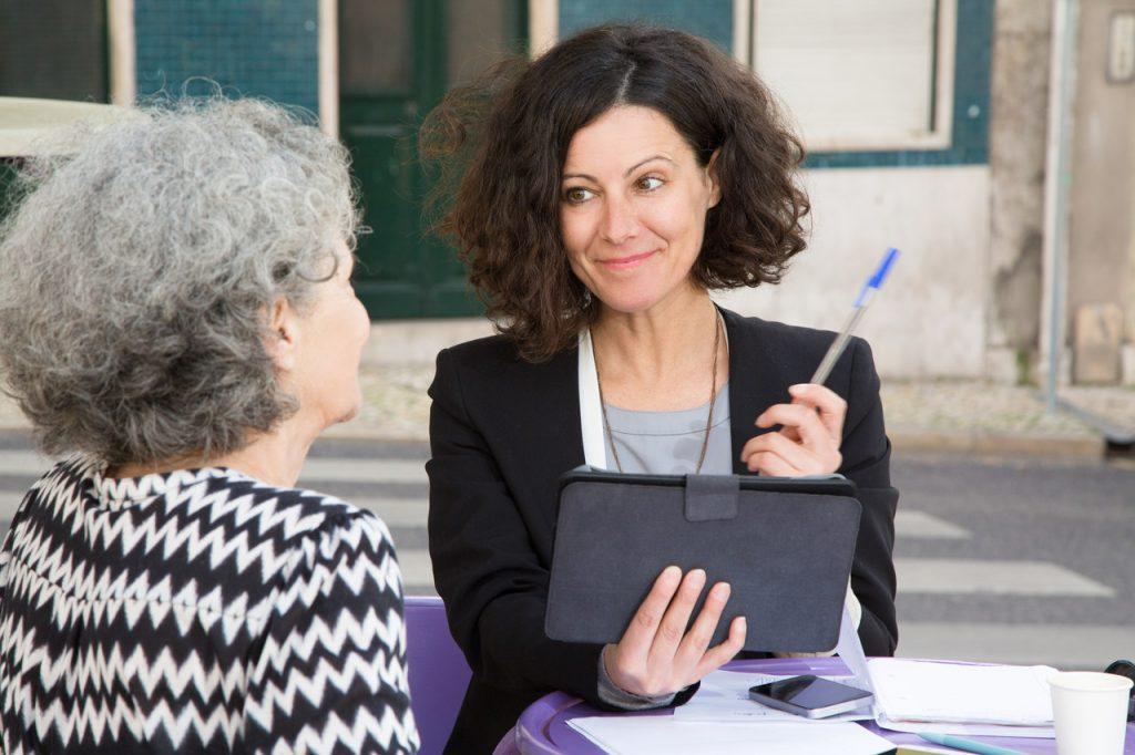 kobiety na spotkaniu biznesowym