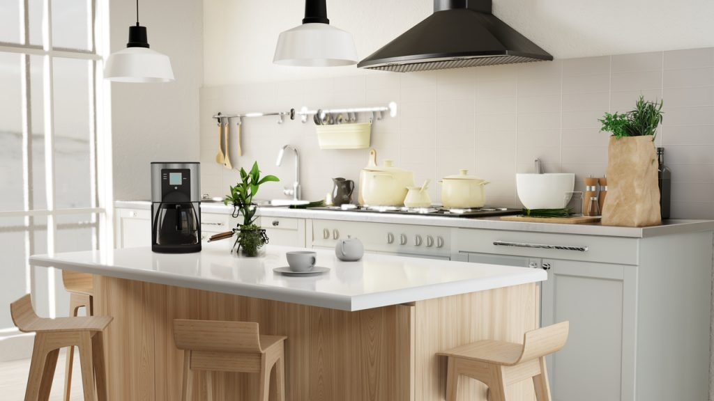 lampy w kuchni
