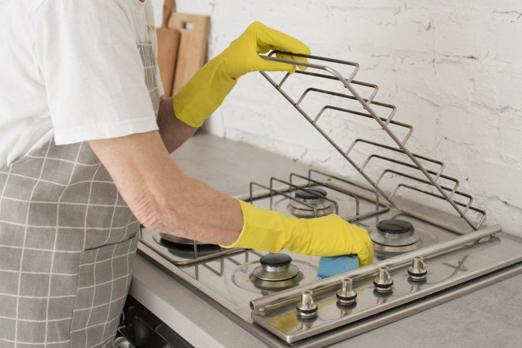 mycie kuchenki